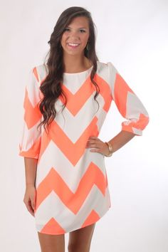 The Justine Chevron Dress, cora