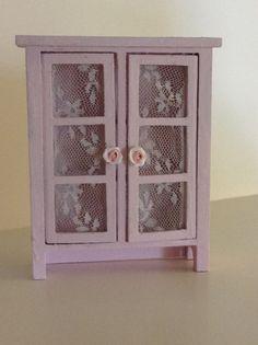 Dollhouse Miniature Romantic Shabby Chic by miniaturerosegarden