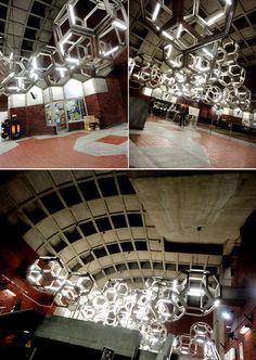 Snowdon Metro Station (Montreal, QC) Photos © Viviana de Loera. Montreal Qc, Canada, Metro Station, Punch Needle, Public Transport, Urban Design, Sculptures, Lifestyle, Photos