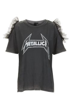 Metallica Tulle T-Shirt by And Finally