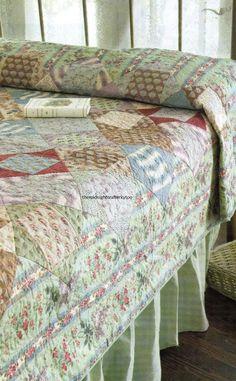 Carre Deux Quilt Pattern Pieced MK