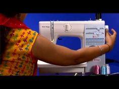 USHA Janome Stitch Magic Automatic Sewing Machine Complete Learning - YouTube