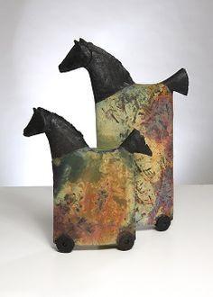 - Teilnehmer 2013 Pottery Handbuilding, Raku Pottery, Pottery Sculpture, Pottery Art, Pottery Animals, Ceramic Animals, Horse Sculpture, Sculpture Clay, Ceramic Figures