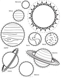 Solar System Craft - The Crafting Chicks Planet Drawing, Solar System Crafts, Coloring Sheets For Kids, Science Fair Projects, Space Crafts, Our Planet, Machine Quilting, Outer Space, Learning Activities