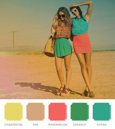 bright colored skirts #casual #summer the best thing sometimes is just color