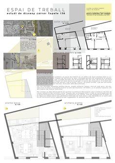 Work space design 1, LauraMartí2015 Workspace Design, Floor Plans, Workplace Design, Floor Plan Drawing, House Floor Plans