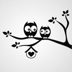 Owl Silhouette for Nursery Silhouette Portrait, Silhouette Projects, Silhouette Design, Owl Silhouette, Grass Silhouette, Stencils, Owl Stencil, Wall Painting Decor, Painted Rocks
