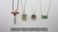 Imagem de fazer jóias a partir de peças de computador