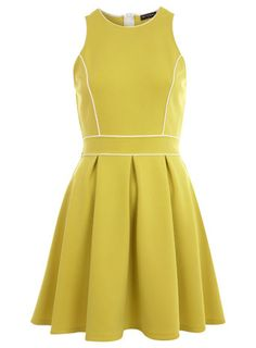 Love this little lime number from miss selfridge - perfect spring transitions :) #ilovespring
