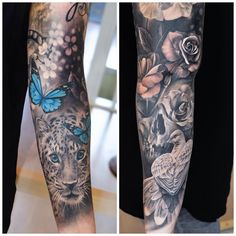 386 Likes, 16 Comments - martin sjöberg ( Dope Tattoos, Pretty Tattoos, Body Art Tattoos, Small Tattoos, Tattos, Full Sleeve Tattoo Design, Full Sleeve Tattoos, Sleeve Tattoos For Women, Butterfly Sleeve Tattoo