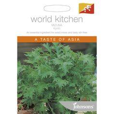 Johnsons Seeds World Kitchen Mizuna Kyoto