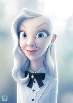 Jessine by Andrew Hickinbottom | Caricature | 3D | CGSociety