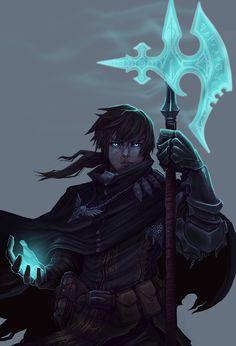 Oath of Vengeance, Trevor Easley on ArtStation at https://www.artstation.com/artwork/nVB0o