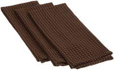 Etonnant Amazon.com   DII 100% Cotton, Oversized Basics Heavyweight Essential  Dishtowel, Set · Dish TowelsDark BrownDishes