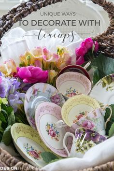 5019eafc081 Unusual Ways to Use and Display Teacups in Your Home