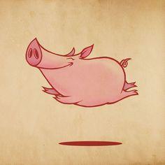 Happy Flying, Piglet! More