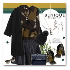 """""""BENIQUE"""" by svijetlana ❤ liked on Polyvore featuring Burberry, Diane James, Acne Studios, MICHAEL Michael Kors, Essie and benique"""