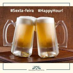 Sexta-feira, happy hour, hora de sair mais cedo do serviço e curtir com os amigos aquele chopp gelado. #HappyHour