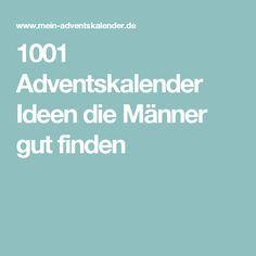 1001 Adventskalender Ideen die Männer gut finden