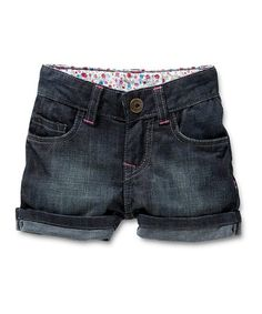 Take a look at this Dark Wash Dominga Shorts - Infant by Noppies on #zulily today#zulily #fall