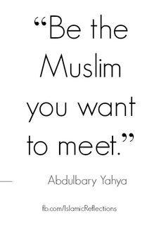 Be that Muslim