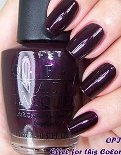 OPI Eiffel for this Color nail polish!