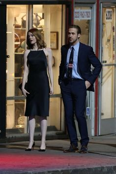 Emma Stone Black Cocktail Party Dress In Movie & La Land& Winter Formal, Emma Stone, In Hollywood, Dresses For Sale, Most Beautiful, Normcore, Stylish, Womens Fashion, Movies