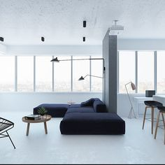 According to modern researchers people like to have minimal look for the interior of their houses. The minimal approach shows lot of space use of white & light colours in contrast to dark furniture and very limited use of accessories. The accessories like night lamp are also minimal in terms of size. This gives modern and elegant look to your house and uses the space well within different rooms. #TrendyTuesday #Home #Design #Interior #architecture #homestyle #decorations #myhome #architect…