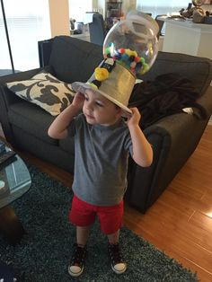 Crazy hat day at school