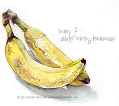 Absolutely bananas by Elena Nazzaro
