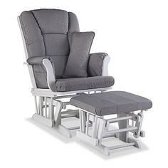 Stork Craft Tuscany Custom Glider Chair & Ottoman Set