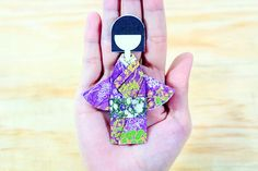 How to Make a Kimono Girl Origami: 15 Steps - wikiHow