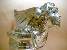 1927 Buick Hood Ornament.. LOVE how creative and elaborate old hood ornaments are!
