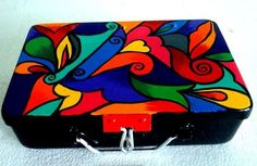 Perfect storage for your accesories. Only at artzolo.com Buy here:-http://www.artzolo.com/craft/color-swirl-trinket-box