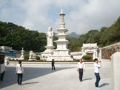 Dongwassa, Daegu, S. Korea