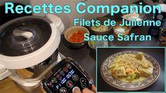 Recettes Companion - Filets de Julienne sauce safran