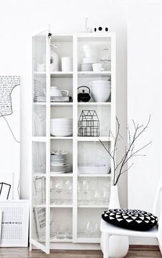 10x | Glazen kast ideeën - Wonen, Maken & Leven