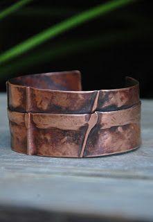 Cynthia Murray Design: Copper Fold Forming