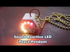 Overview | Sound Reactive NeoPixel Peace Pendant | Adafruit Learning System