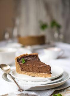 Najszybsza tarta czekoladowa (bez glutenu)