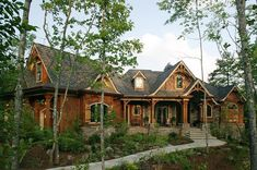 America's Best House Plans presents our full collection of home designs with real photos! Thousands of House plans with photos to choose from in a variety of sizes and styles. Craftsman Style House Plans, Cottage House Plans, Cottage Homes, Craftsman Exterior, Cottage Bedrooms, Amish House, Modern Craftsman, Cottage Ideas, Cabin Homes