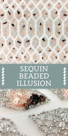 Beaded Illusion with Scale-Like Pattern