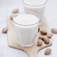On a wheat-free diet? Don't miss out with our tasty gluten-free dessert recipes plus other recipes from Red Online Smoothie Drinks, Healthy Smoothies, Healthy Drinks, Healthy Tips, Milk Alternatives, Time To Eat, Gluten Free Desserts, Almond Milk, Almond Butter