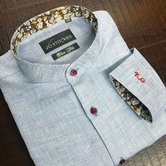 Why go for the ordinaire, when you can go #custom ?!. . . Customised Linen shirt for our dapper customer! . . Get your shirts customised at…