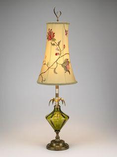 diamond shaped lamp shade | found on greenleafgallery com