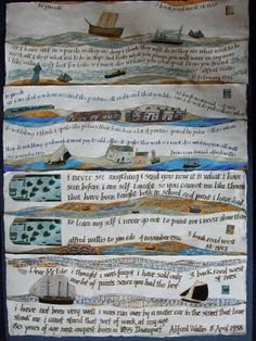 Alfred wallis collage