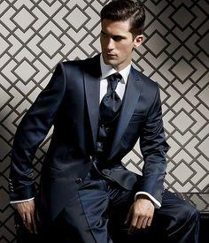 Imagini pentru navy blue prom suits