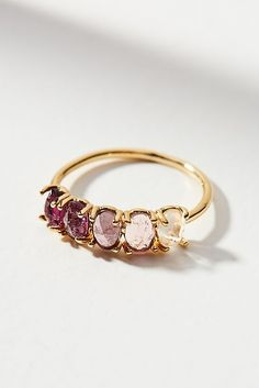 Slide View: 1: Ombre Birthstone Ring