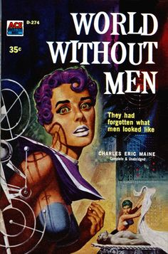 World Without Men – Pulp Covers