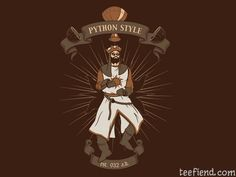 """""""Python Style"""" by studown is $10 today at RIPTapparel http://www.teefiend.com/1058/python-style/"""
